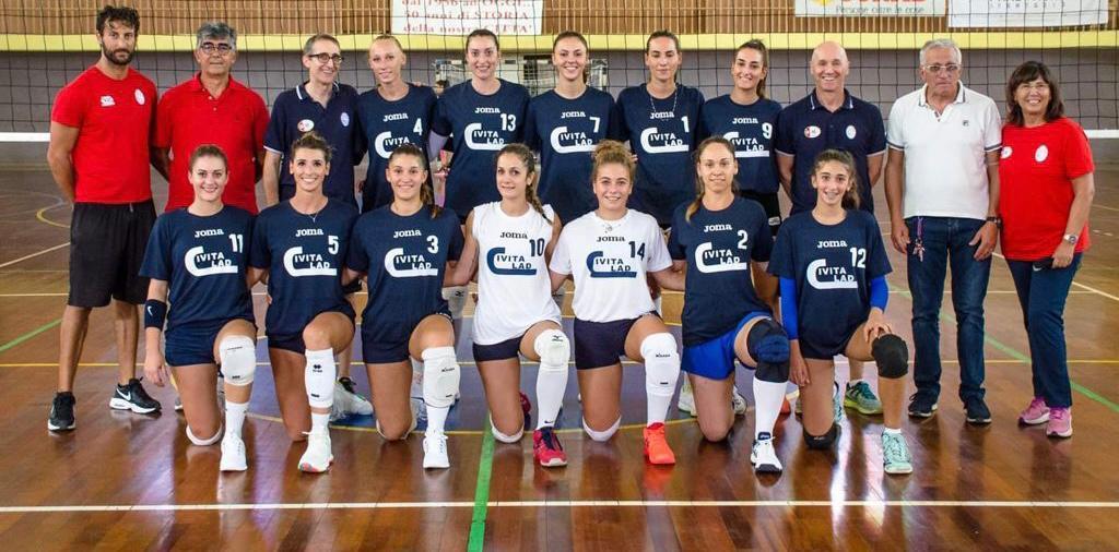 Margutta CivitaLad pronta per l'esordio in Serie B1