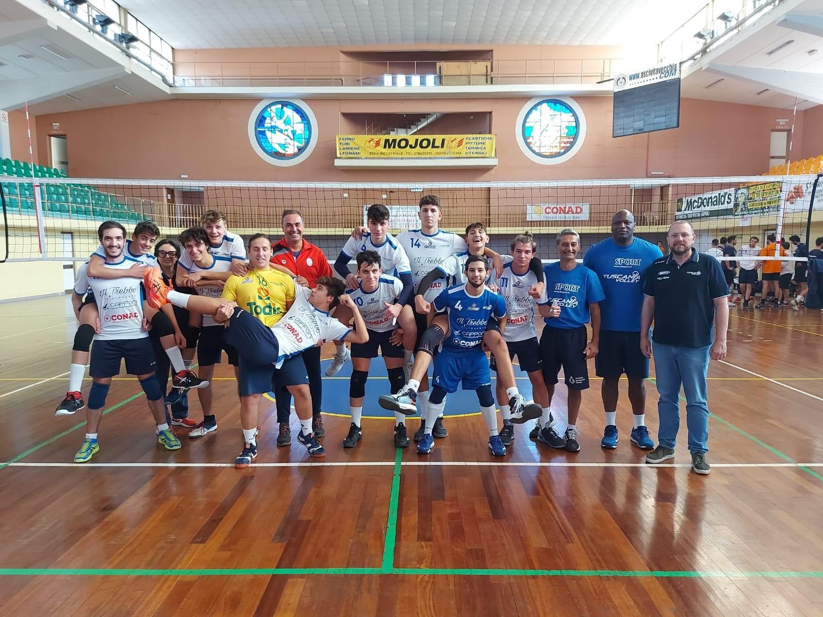Etruria Volley, oggi l'inizio della nuova avventura