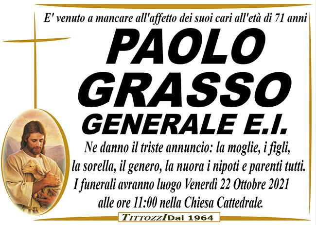 PAOLO GRASSO (GENERALE E.I.)