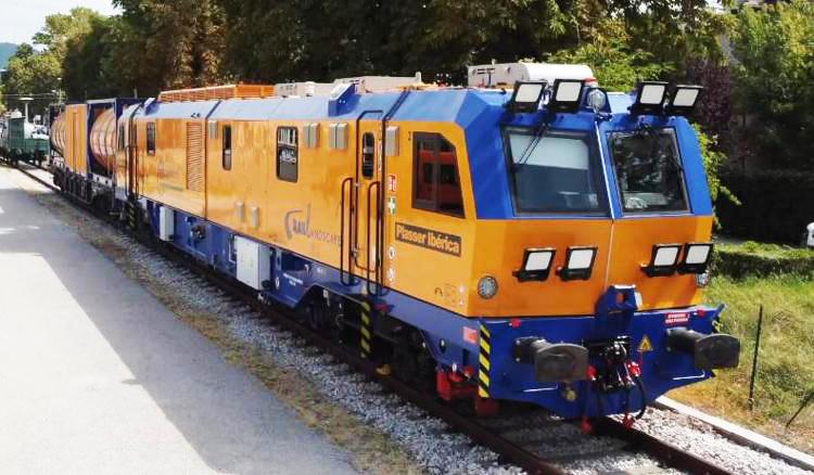 Ecco il primo treno diserbante