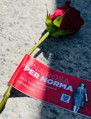 """""""Una rosa per Norma Cossetto"""", celebrata la memoria della giovane istriana"""