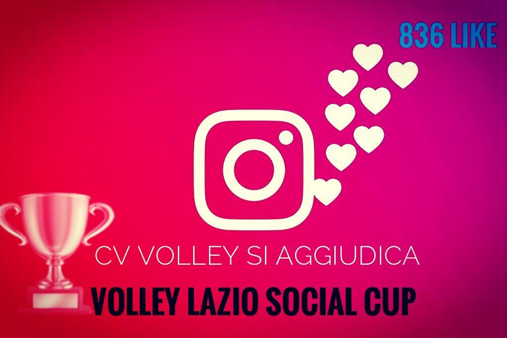 La Cv Volley vince la Volley Lazio Social Cup
